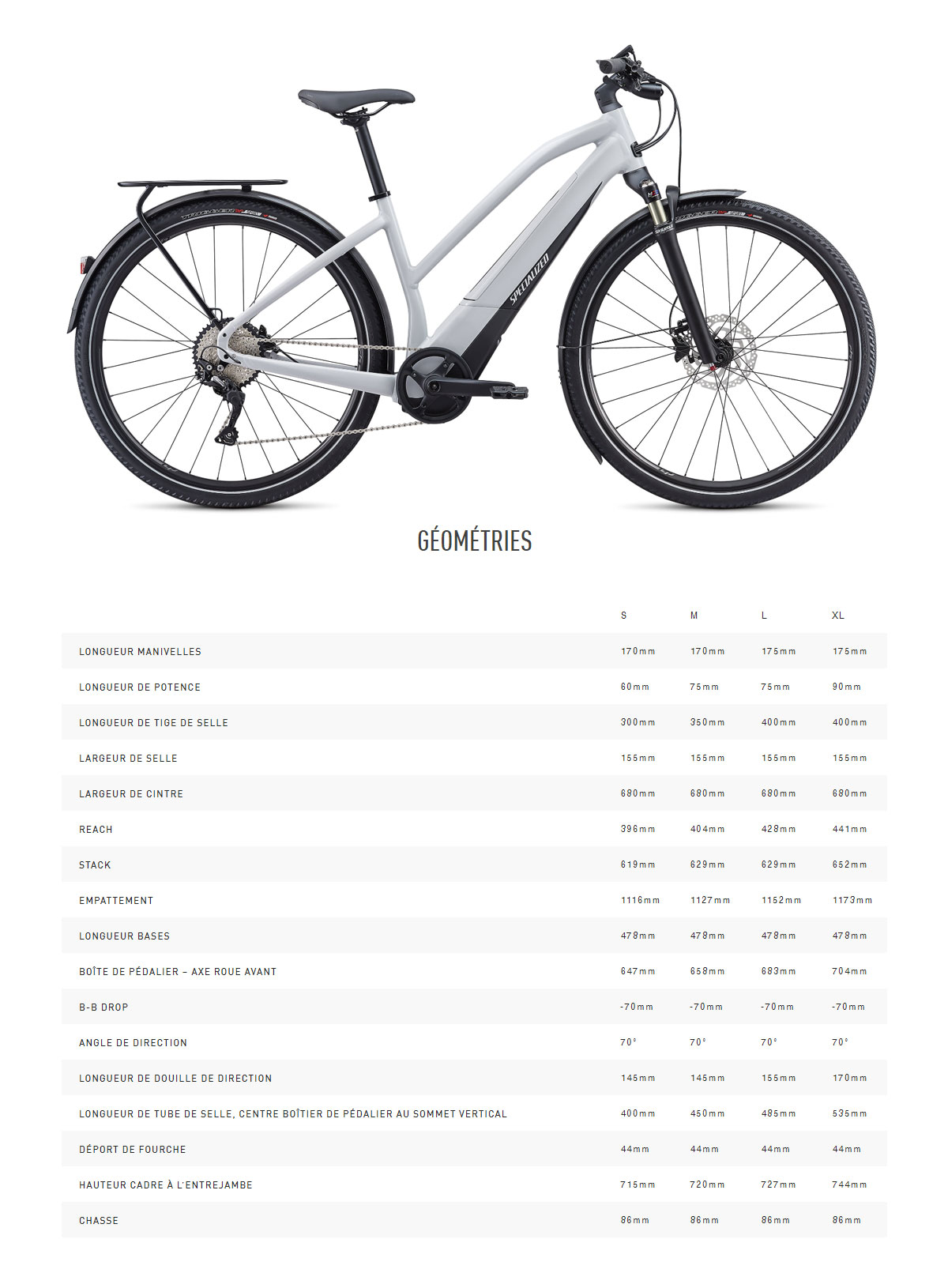 Vélo électrique Turbo Vodo 4.0 Step-Through Guide de taille